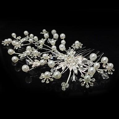 personalized women s flower girl s alloy cubic zirconia headpiece wedding hair bs flowers