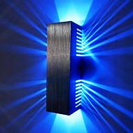 2W llevó la luz de pared moderno con dispersión de la luz del diseño 2 Shades cúbicos