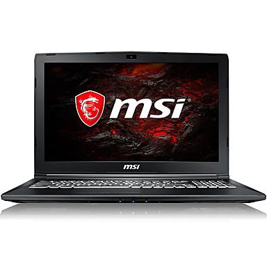 MSI gaming laptop 17.3 inch Intel i7-7700HQ Quad Core 8GB DDR4 1TB HDD Windows10 GTX1050 4GB GL72M 7RDX-684CN