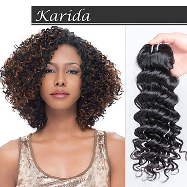 1 yr warranty mix length virgin indian deep curly hair deep wave wet and wavyindian remy hair