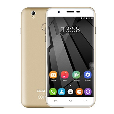 "OUKITEL U7 PLUS 5.5 "" Android 6.0 Cell Phone (Dual SIM Quad Core 13 MP 2GB + 16 GB"