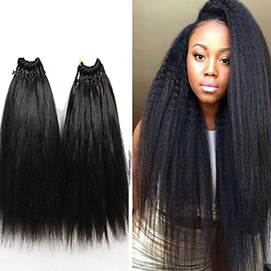 kinky straight weave 18inch italian yaki straight hair weave straight extensions for black women