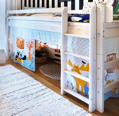 rideau de lit pour enfant fille et