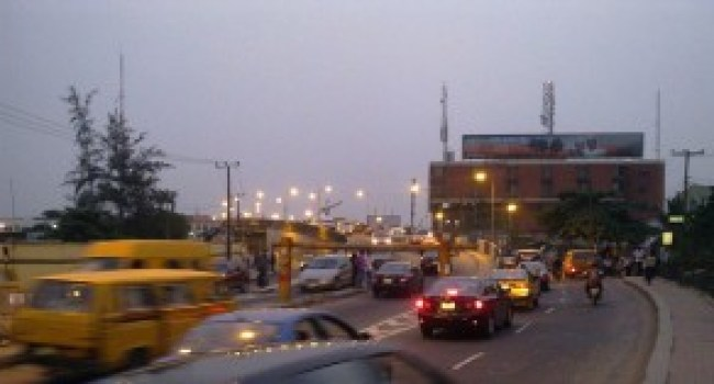 Sunset in Ikeja.