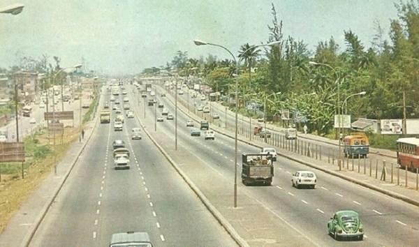 Ikorodu Expressway in the 1970s