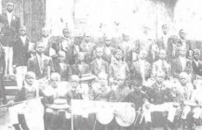 Ijebu Ode Grammar School very old picture