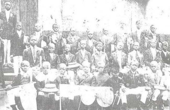 Ijebu Ode Grammar School very old picture