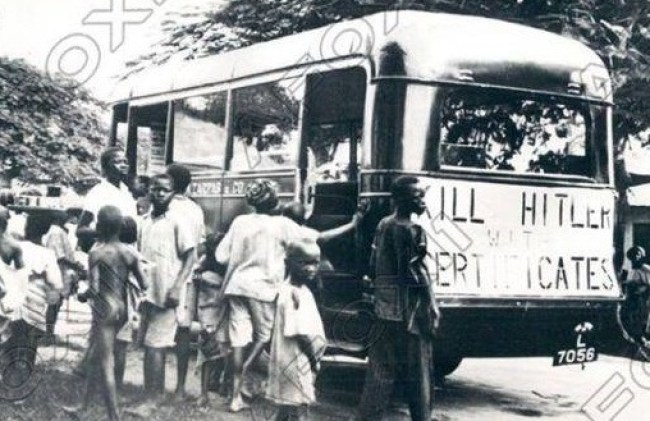 """Nazism was campaigned against in Nigeria with the """"Kill Hitler Fund"""""""