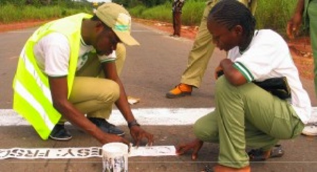 Committed NYSC corpers