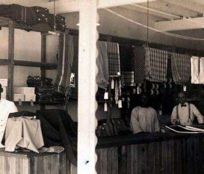 European store 1930s. Free enterprise
