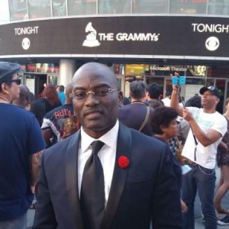 Dayo Adeneye at the Grammy's 2016