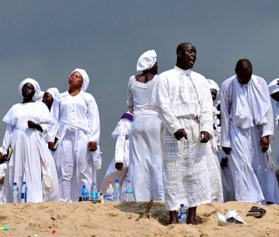 Aladura Spiritualists at Bar Beach