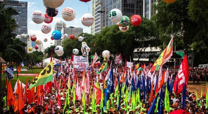 Brazil: union centrals announce general strike for June 14