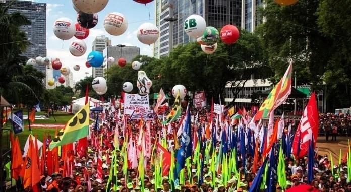 Brazil: union centrals announce general strike for June 14