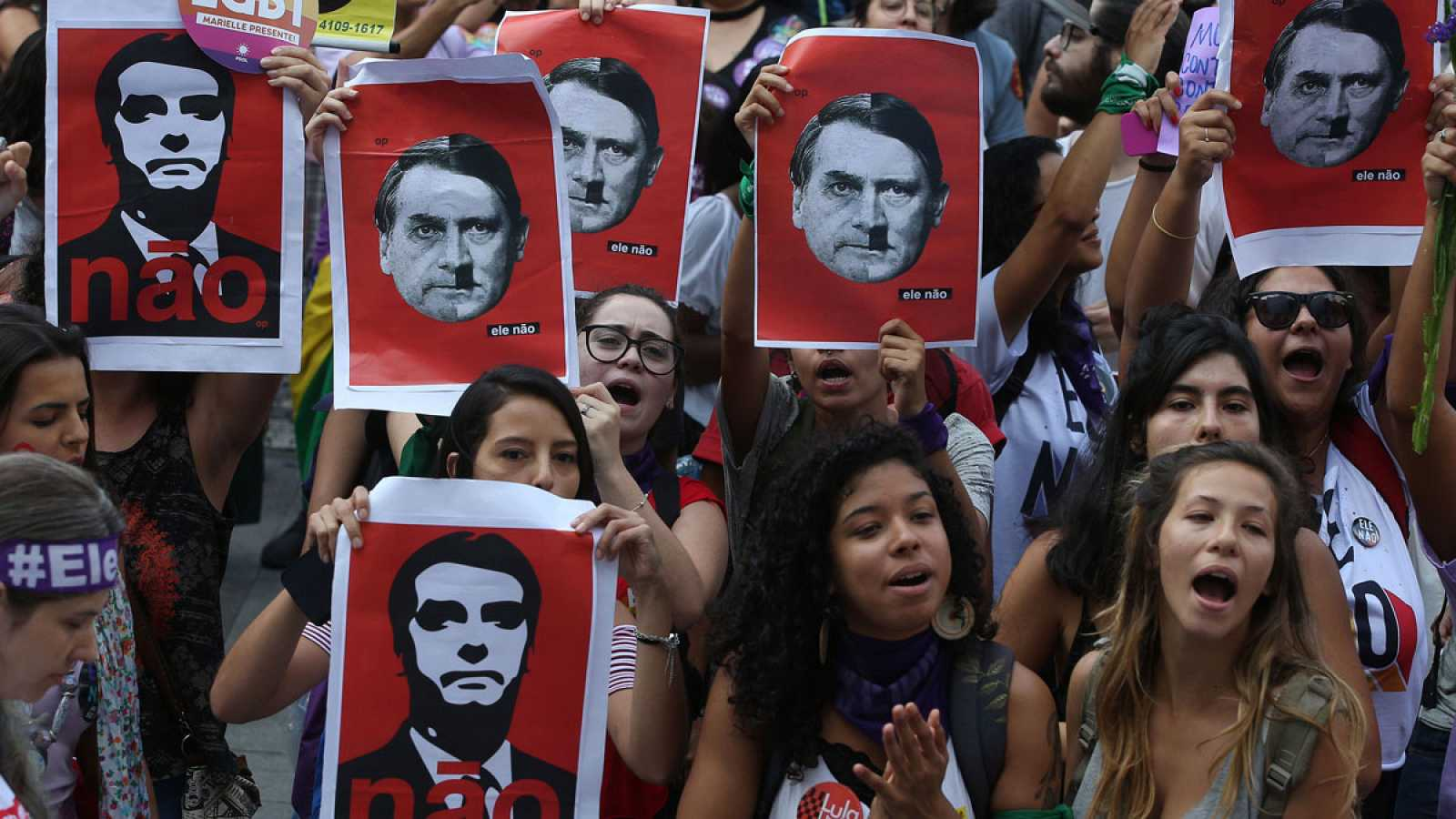 Argentina Rejects Bolsonaro – Here your hate is not welcome!