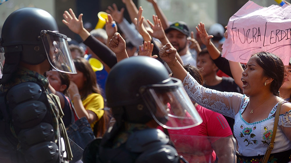 Ecuadorian Uprising Defeats Austerity Package