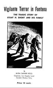 Figura 5 – Publicación del SWP denuncia asesinato de familia, víctima de grupo racista, en 1946.