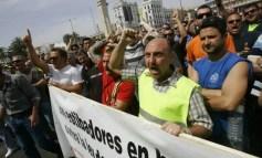 En apoyo a la lucha de los estibadores portuarios