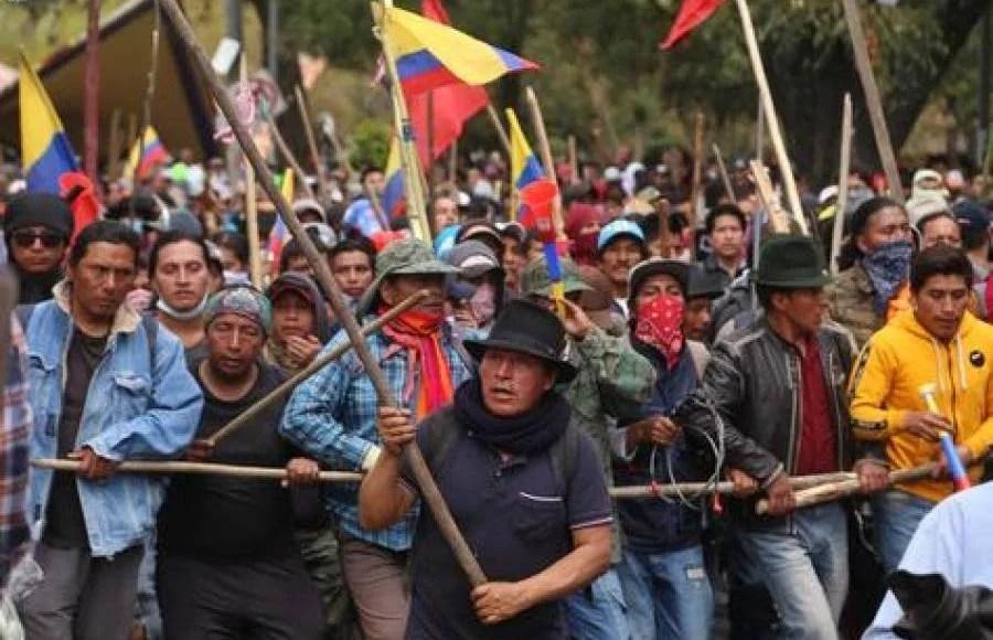 Todo apoyo al levante popular de los trabajadores en el Ecuador ...