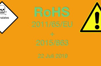 RoHS, ROHS III, Phthalates, ftalaten