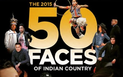 """Gary """"Litefoot"""" Davis selected as one of the 2015 """"50 Faces of Indian Country"""""""