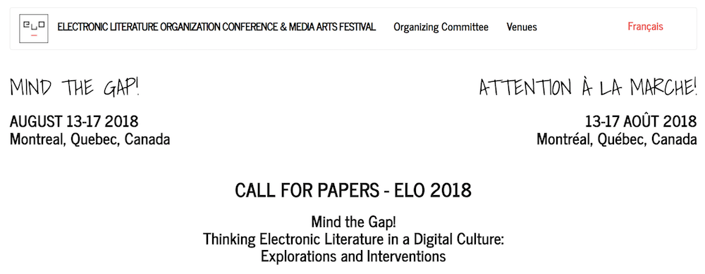 Conferencia ELO 2018 en Montreal