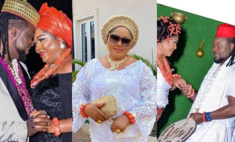 Ned Nwoko's In-Law, Rita Daniels Drops Stunning Video Of Herself After Her Marriage To Her Young Lover (Video)