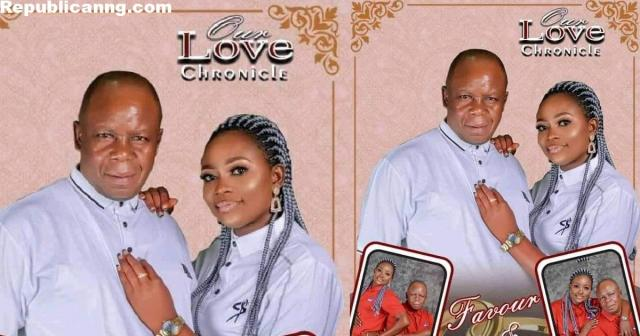 """""""Marry who fit take care of you o!"""" – Nigerians react as young Akwa Ibom lady marries her older lover"""