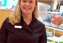 Restaurangchefen Jessica Samuelsson.