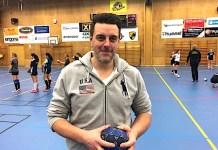 Magnus Björklund, ny klubbchef i Kärra HF.