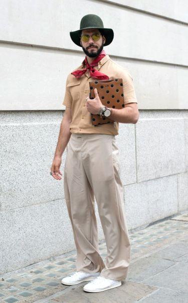 30代大人メンズのベージュコーデが夏に映える!