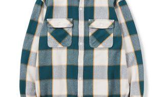 ネイバーフッドのネルシャツ