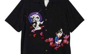 キムタク着の黒アロハシャツ
