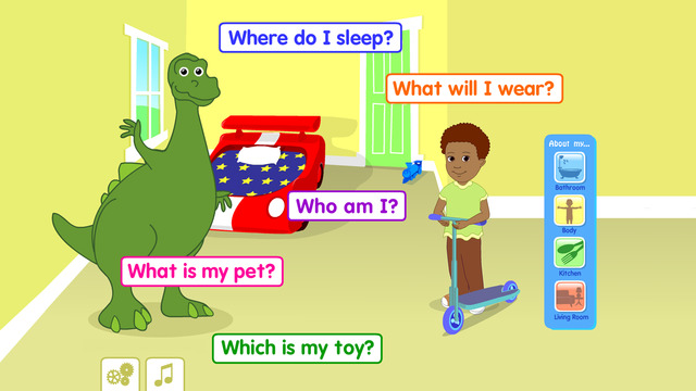 Starfall All About Me Literacy Apps