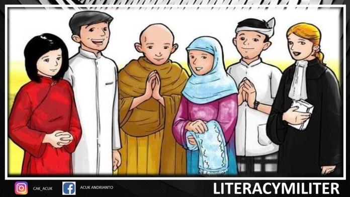 contoh keberagaman agama masyarakat indonesia