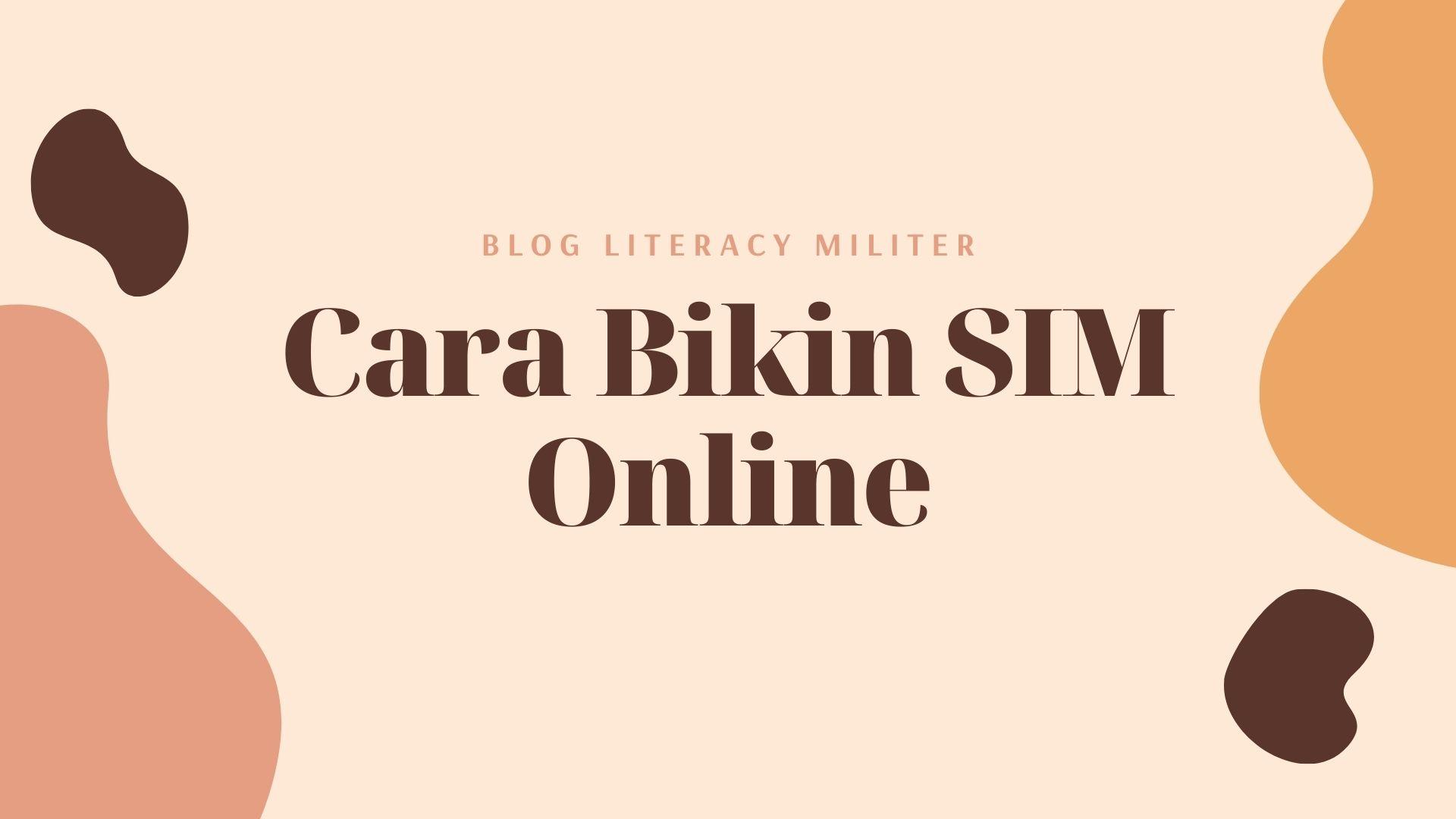 cara membuat sim online