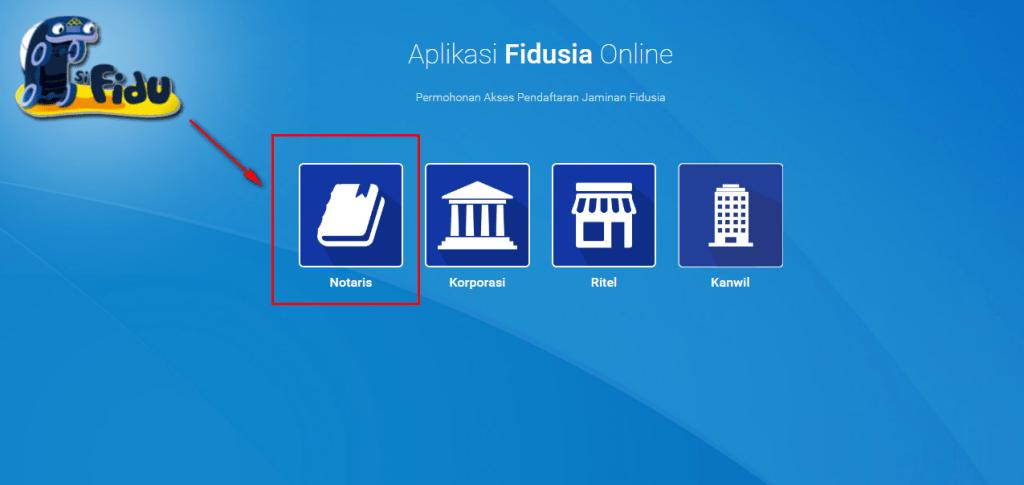 Aplikasi Fidusia Online / fidusia.ahu.go.id