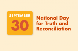 Read more about the article Truth and Reconciliation Day – September 30th, 2021