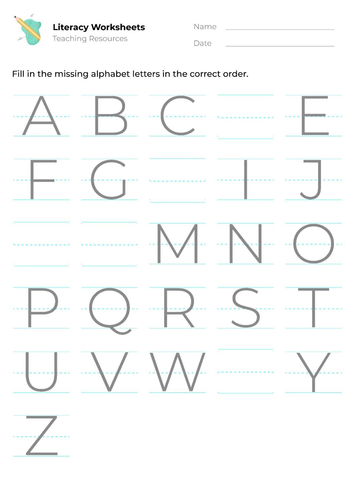 Letter Sound Worksheets