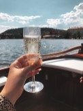 Prosecco on the Vltava