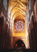 Inside St. Vitus Cathedral