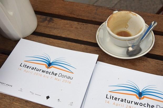 Literaturtipp Nummer 3: Literaturwoche Donau 2016, geballte Autoren- und Verlegerpräsenz vom 14. April bis 7. Mai 2016.