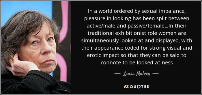 quote-in-a-world-ordered-by-sexual-imbalance-pleasure-in-looking-has-been-split-between-active-laura-mulvey-69-58-34