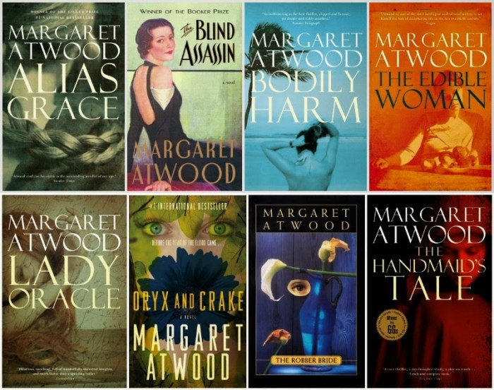 Image result for margaret atwood books