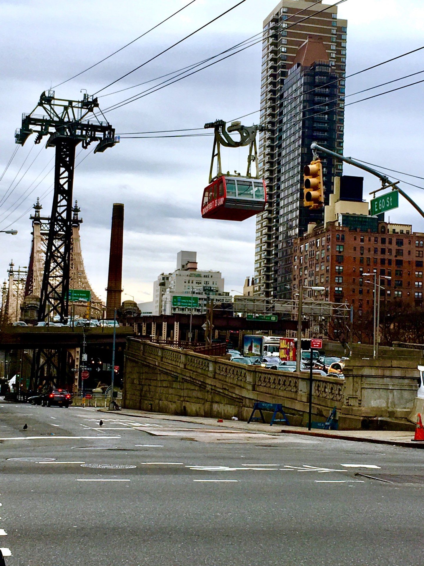 Everywhere, Always includes a ride on the Roosevelt Island Tramway