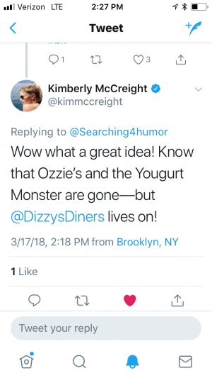 Author Kimberly McCreight, books set in New York City