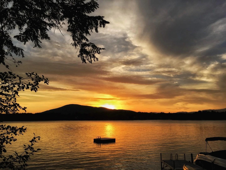 Lake Winnipesaukee sunset