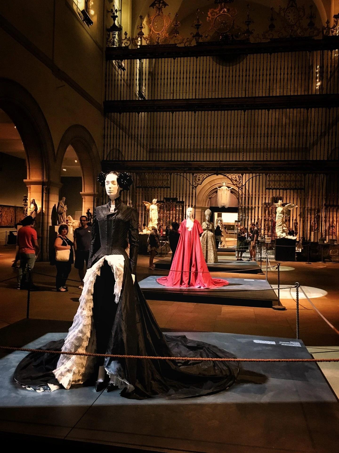 The Met Museum, period dresses
