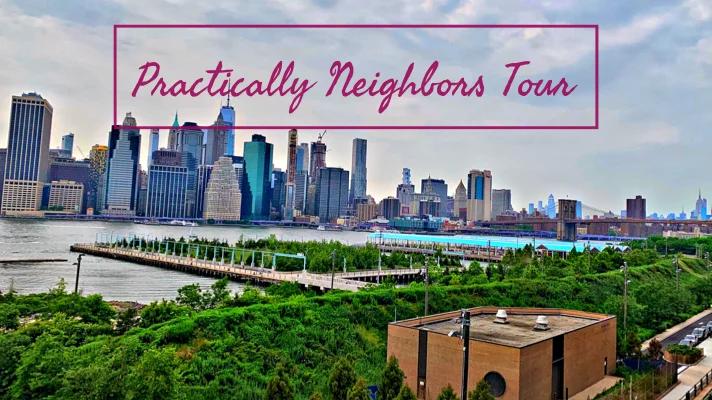 Part of my Brooklyn tour. Manhattan skyline from the Brooklyn Promenade