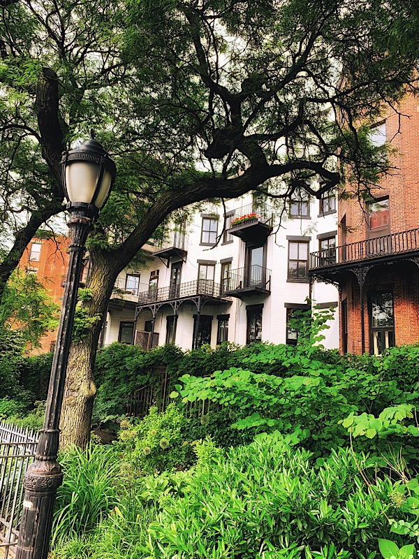 Nice homes along the Brooklyn Promenade